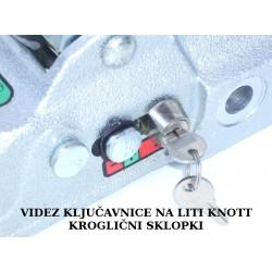 Ključavnica krogl.sklopke KNOTT K27-K35