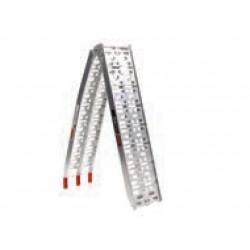 Zložljiva aluminijasta navozna klančina 1,1-2,2 m 340kg