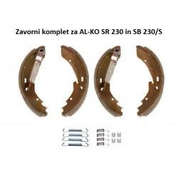 Zavorni komplet za AL-KO 230x40 (SR 230)
