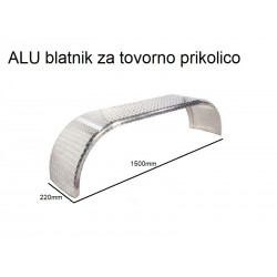 Blatnik ALU za 13'' tandem kolesa (22x150mm)