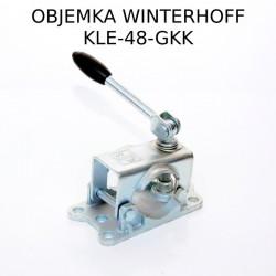 Objemka s pregibnim vijakom, KLE-48-GKK WW