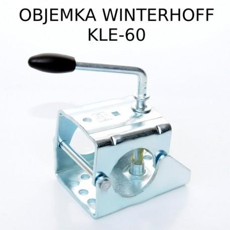 Objemka s pregibnim vijakom, KLE-60 WW