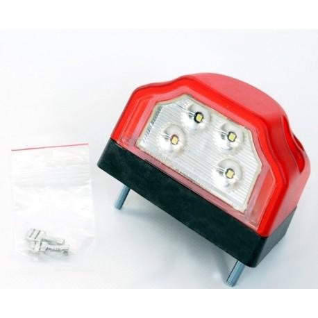 LR LED, Fristom LED luč za tablico z rdećo poz