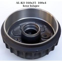 Zavorni boben ALKO, 160x35, 100x4