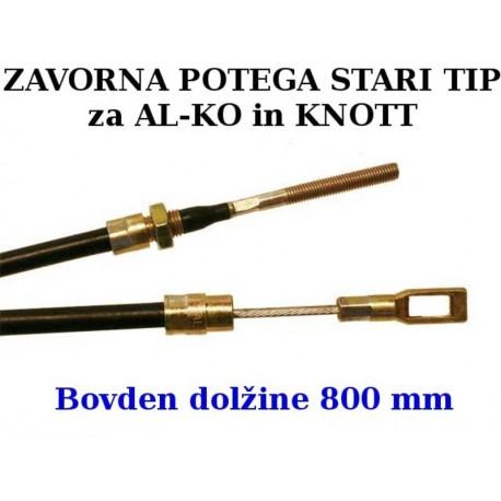 Zavorna potega STARI TIP 800 mm