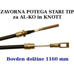Zavorna potega STARI TIP 1160 mm