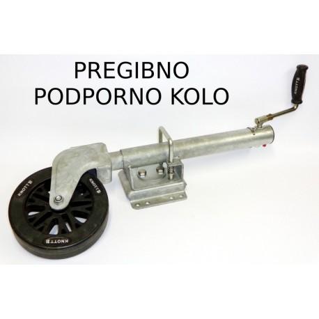 PKO-P-210x50PVC, pregibno podporno kolo Knott