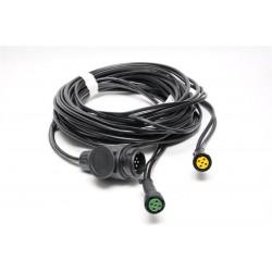 Priključni kabel 13 pol vtikač, dolžina 6m brez izhodov, Aspock