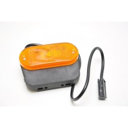 Pozicijska luč oranžna LED zaobljena