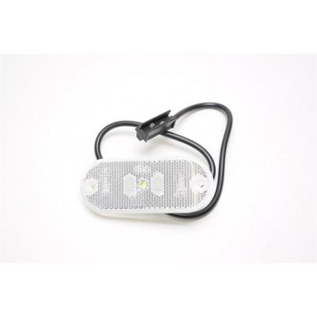 Bela LED luč s kablom