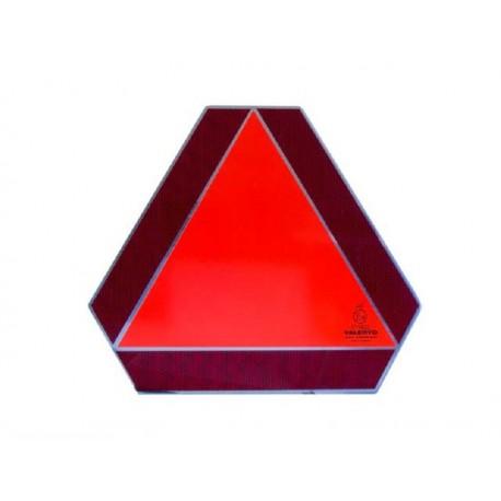 Trikotni odsevnik za počasna vozila z nosilcem - ALU