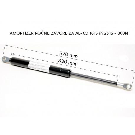 AL-KO 161S, 251S (800N) - amortizer ročne zavore