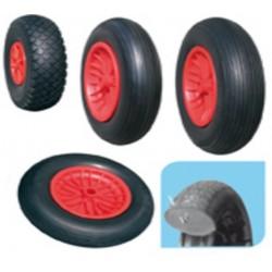 400x100 Rezervno kolo podpornega kolesa polna guma