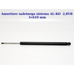 ANS-ALKO-2,8VB l-610, amortizer naletnega sistema