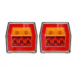 LED zad. luč D-L 99,5x93x39,5 s kablom
