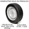 Kompletno kolo 112x5 195/50 R13C Kenda Radial (900 kg)