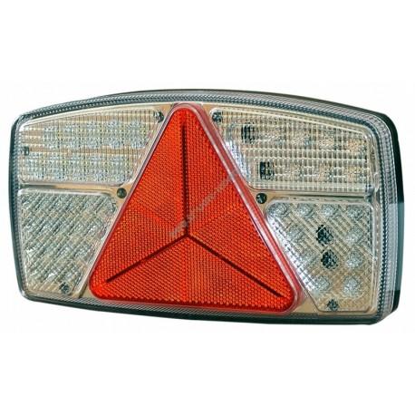 LED luč s kablom 250x138x28 10-30V zad.leva