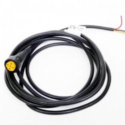 Priključni kabel 5 polni, dolžine 3m, Aspock (levi)