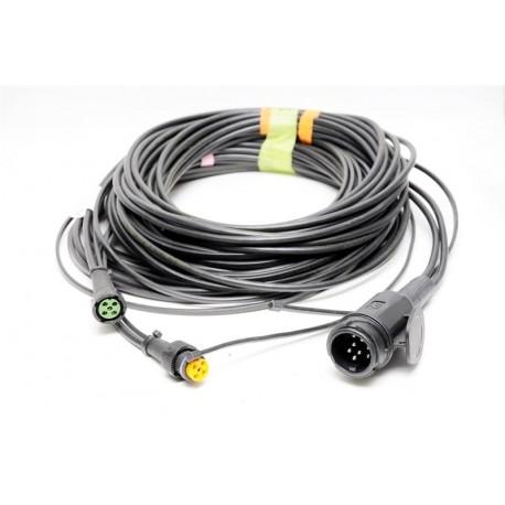 Priključni kabel 13-pol vtikač, dolžina 10m z izhodi 8,0m, Aspock
