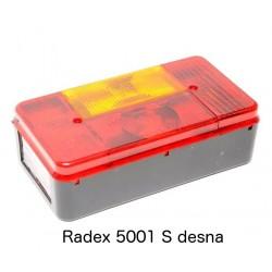 Radex 5001 S, luč zadnja desna