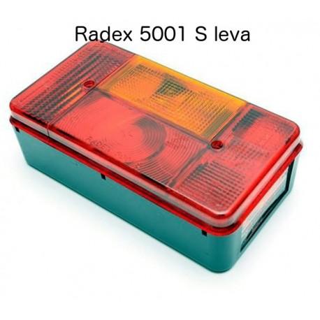 Radex 5001 S, luč zadnja leva