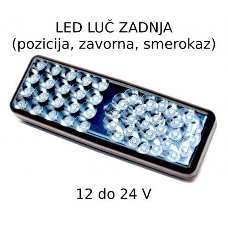 LED luč zadnja 12 do 24V s konektorjem
