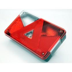 Multipoint 5 leva z LED zavorno/pozicijsko lučjo, s konektorjem