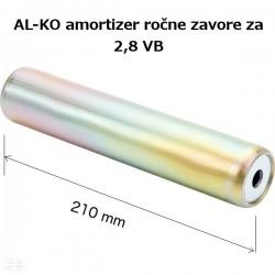 AL-KO 2,8VB l-210, vzmet naletnega sistema