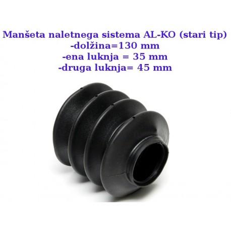 MNS-ALKO-Dim-130-35-45-G4, manšeta naletnega sistema AL-KO stari tip