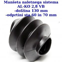 MNS-ALKO-Dim-130-60-70-G3, manšeta naletnega sistema AK-KO 2,8 VB