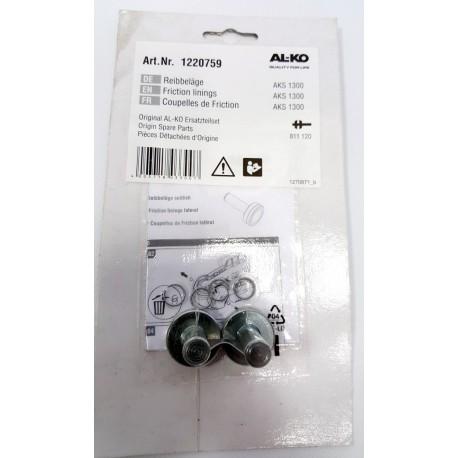 Diskaste obloge za protinihajno kroglično sklopko AL-KO AKS 1300
