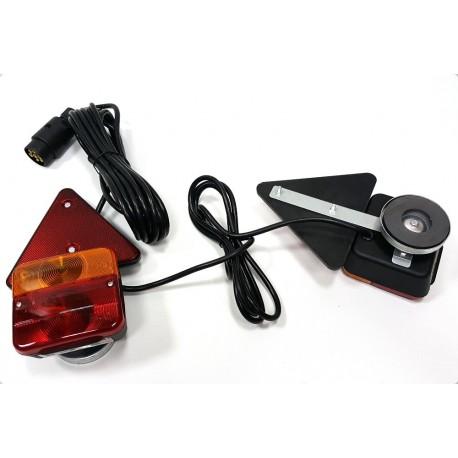 Komplet luči za prikolico z magneti ( 6,5 m kabel)