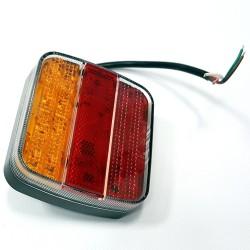 LED luč zadnja leva ali desna DXV mm, s kablom 0,3m 12-24V