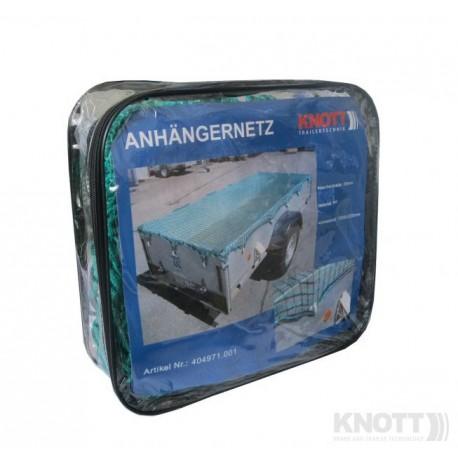 Zaščitna mreža 4x3m z gumijastim trakom 6mm