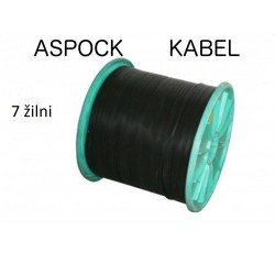 Kabel 7x1,0mm² Aspock (7 žilni)