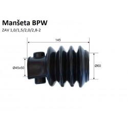 Manšeta BPW ZAF 1,0/1,5/2,0/2,8-2 DIM-160-60x(50x40)-G4