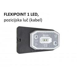 Flexipoint 1 LED, pozicijska luč z nosilcem