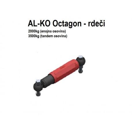 Amoritzer-blažilec za akso AL-KO Octagon zeleni (900kg)