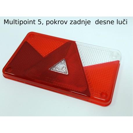 Multipoint 5, pokrov zadnje desne luči