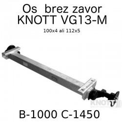 Aksa Knott do 1350kg brez zavor B1000 100x4 ali 112x5