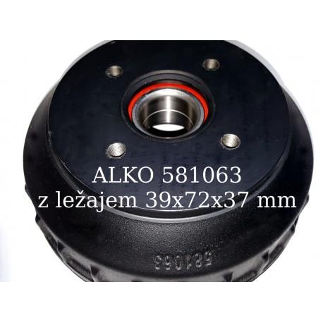 Zavorni boben ALKO 581063, 200x50, 4x100, ležaj 39x72x37