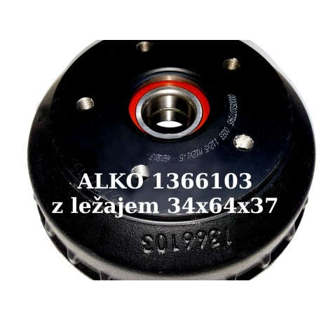 Zavorni boben ALKO 1366103, 200x50, 112x5 z ležajem