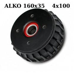 Zavorni boben 160x35 4x100 za AL-KO Euro Kompaktlager