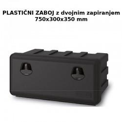 Zaboj za orodje 750x300x350 z dvojnim zapiranjem