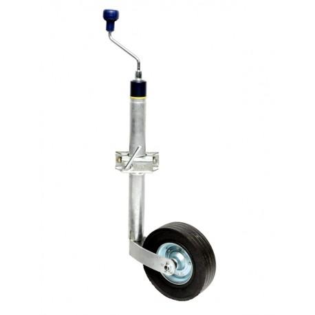 PKO-T-48-150_225x70, podporno kolo z objemko in s tehtnico, za vertikalne obremenitve do 150 kg