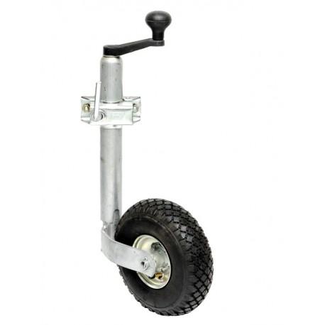 PKO-Z-48-150_260x85, podporno kolo z objemko in zračnico, za breme do 150 kg