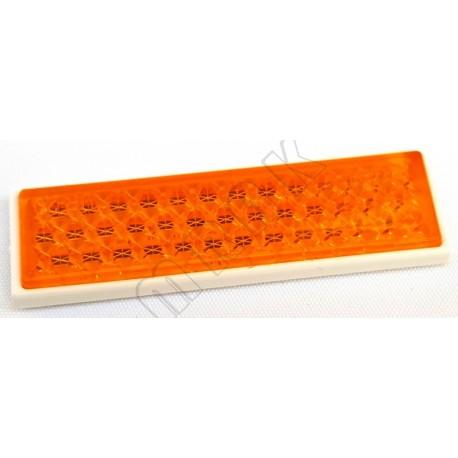 Samolepilni bočni odsevnik oranžni 68x19