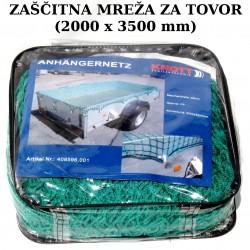 Zaščitna mreža 2x3,5m z gumijastim trakom