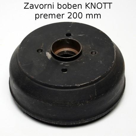 Zavorni boben Knott, premera 200 mm, brez ležajev