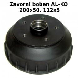 Zavorni boben ALKO 357708, 200x50, 112x5 (brez ležaja)